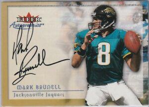 2000 Autographics MARK BRUNELL Auto!!! UW Jaguars