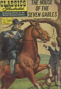 Classics Illustrated 052 The House of Seven Gables #10 FN 1970 Stock Image