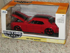 Jada Bigtime Muscle 1970 Ford Mustang Boss 429 Red from 2013 Red Wheels 1:24