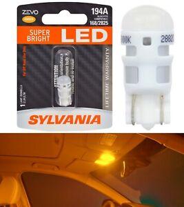 Sylvania ZEVO LED light 194 Amber Orange One Bulb Trunk Cargo Replace Upgrade