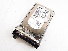 "Dell GY581 73GB 3.5"" 15K RPM SAS Hard Drive ST373455SS 9Z3066 w/Caddy"