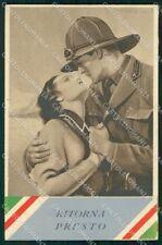 Militari Coloniali Tricolore Corbella Degami cartolina XF6549