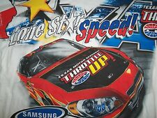 "NASCAR Texas Motor Speedway ""Lone Star Speed"" White Graphic Print T Shirt XXL"