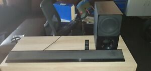 Sony soundbar with subwoofer