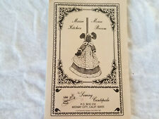 "Kitchen Broom Cover Pattern ""Maisie Mouse"" by the Sewing Centipede with Catalog"