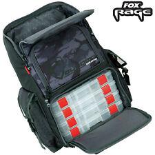 Gr/ün, Schwarz und Tarnung AUMTISC Angeltasche Angelrucksack Rucksack mit 4 Tackle Box Trays Gro/ße Tackle Bag Aufbewahrung mit Regenschutz