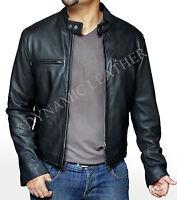 Bradley Cooper Stylish Fashionable Biker Real Leather Jacket- BNWT