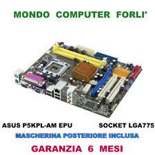 SCHEDA MADRE SOCKET 775 ASUS P5KPL-AM EPU + CPU INTEL CORE 2 DUO E6550