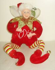 Vintage Christmas Elf Figurine Beautiful Design Nr