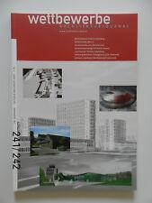Wettbewerbe Architekturjournal Architektur Zeitschrift Heft 241/242 2004