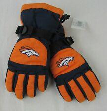 Denver Broncos NFL Boys Orange Winter Gloves