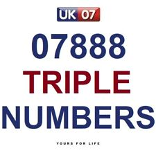 07888 - Gold Memorable Business Platinum VIP Mobile Phone Numbers - £349.99