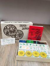 MAh Jongg Set Vintage por Gibson H P chino Juego de Cuatro Vientos Caja Original