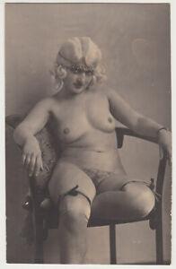 Original vintage 1920s Austrian nude, rare!