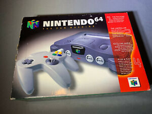 Nintendo 64 N64 Video Game Console System Brand New