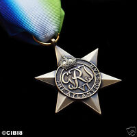 ATLANTIC STAR MEDAL WW2 BRITISH COMMONWEALTH MILITARY AWARD FULL SIZE REPRO UK