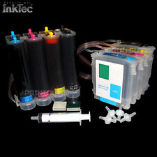 CISS cis manguera sistema HP 82 11 BK y M c XL set InkTec tinta Ink DesignJet 111
