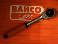 """Bahco - Ratchet for 1/2in Square Drive Sockets 10"""" 250mm  60 teeth quick release"""