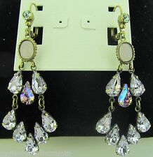 Sorrelli Spring Rain Earrings ECY41AGSPR antique gold tone