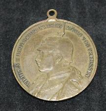 Original Regimentsmedaille Medaille Kronprinz Dragoner Regiment 1813 - 1913