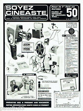 PUBLICITE ADVERTISING 026  1965  Intermanufactures   appareils photo caméras
