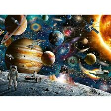 1000 Pieces Jigsaw Puzzle Education Learning Game Puzzle Kid Adult Space Planets