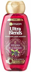 Garnier Ultra Blends Nourishing Shine Henna Blackberry Shampoo 180ml