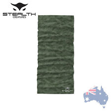 Stealth Creatures Face Sock™ - Digital Camo Green - Bandana Mask Neck Scarf UV
