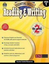 Essential Skills  Reading and Writing, Grade 1 by Teacher Created Reso/ & 2 CD