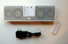 Logitech MM50 iPod - iPhone Rechargeable Speaker - With Zippered Case & Remote