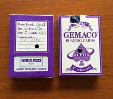 Casino Playing Cards Gemaco Large Print - Imperial Palace Biloxi