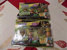 Teenage Mutant Ninja Turtles Pez Connectibles Set 2 Twin Packs TMNT Candy
