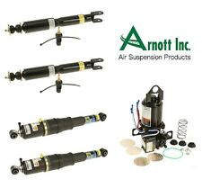 Complete Suspension Compressor & Shock Absorber KIT For Chevy GMC & Cadillac SUV