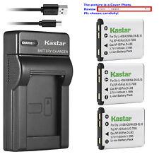 Kastar Battery Slim Charger for Fujim NP45 NP45A FinePix JX370 FinePix JX375