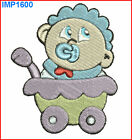 BABY BOYS **10** MACHINE EMBROIDERY DESIGNS 2 SIZES - IMPCD16