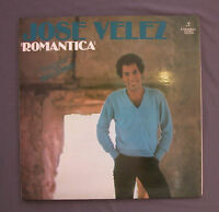 "Vinilo LP 12"" 33 rpm JOSE VELEZ - ROMANTICA"