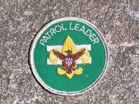 BSA Boy Scout Patrol Leader Patch Boy Scout Patch Vintage