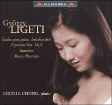 Gyorgy Ligeti: Piano works - Lucille Chung CD NEW