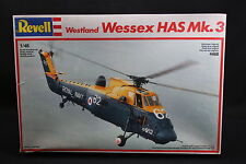 XQ021 REVELL 1/48 maquette helicoptere 4468 Westland Wessex HAS Mk.3 année 1988