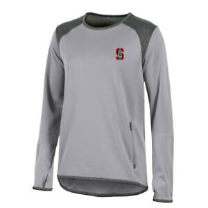 Stanford Cardinal NCAA Champion Women's (Grey) Athletic Tech Perf. Crew