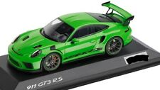 Porsche 911 GT3 RS Lizard Green 2018 Limited 70 years 1:43 Minichamps Spark NEW
