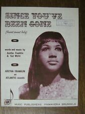PARTITION MUSICALE BELGE ARETHA FRANKLIN SINCE YOU'VE BEEN GONE