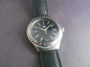 Used Swatch Irony Date Automatic Men's Watch