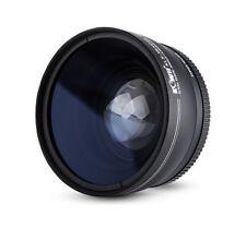 58mm Kiwifotos Weitwinkel Konverter Vorsatzlinse 0,45x Objektiv & Objektivdeckel