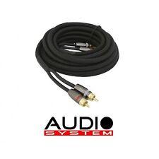 Audio System Z-PRO 2.5 2,5m Cinchkabel High End Cinch Kabel 2,5 Meter vergoldet
