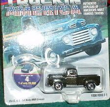 JOHNNY LIGHTNING 1950 FORD F1 PICK UP TRUCK  w COLLECTOR TOKEN 1/64