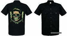 Rockabilly Cotton Loose Fit Casual Shirts & Tops for Men
