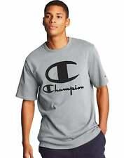 Champion Life Heritage Tee T-Shirt Men's Multi Tech Graphics-Furry poly C logo