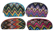 Makeup Bags Cosmetic Cases Southwestern Style 6 Pcs 12 Pcs Lot (CosBag39  ^*)