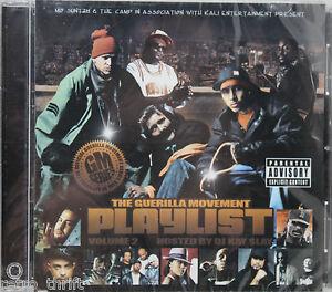 The Guerilla Movement Playlist Volume 2 DJ Kay Slay Mo Suntzu Kali CD